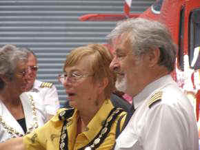 Deputy Lord Mayor of Cardiff with Elfan ap Rees