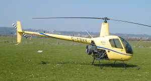 Robinson R-22 Beta, G-CBXN  --  Click to enlarge