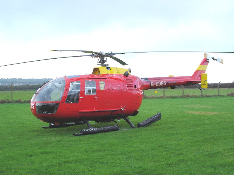 MBB Bo.105DBS-4 Air Ambulance