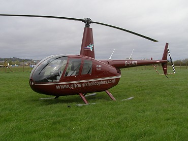 Robinson R44 Raven I, G-LHXL, at The Helicopter Museum