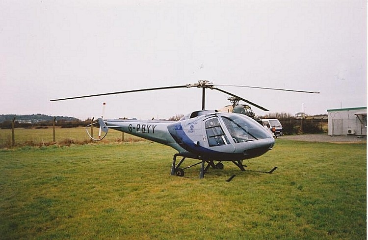 Enstrom 280FX, G-PBYY, at The Helicopter Museum