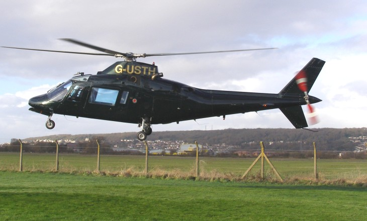 Agusta A109A MkII, G-USTH, at The Helicopter Museum