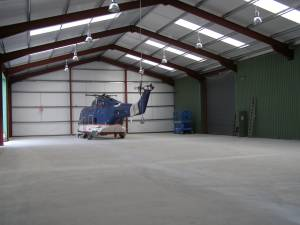 Hangar Extension Interior on 28th April 2007