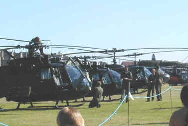 Bolkows and Hueys at Weston-super-Mare for Helidays 2002