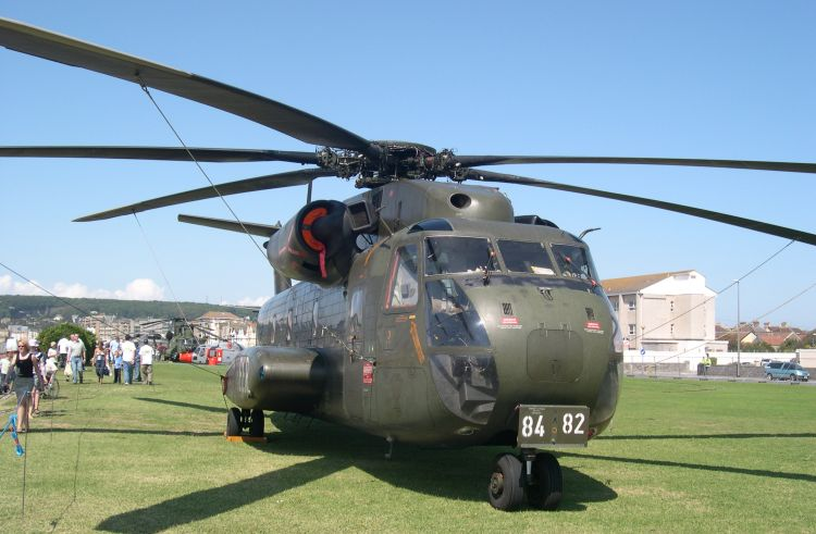 CH-53G, 84+82, at Weston Helidays 2004
