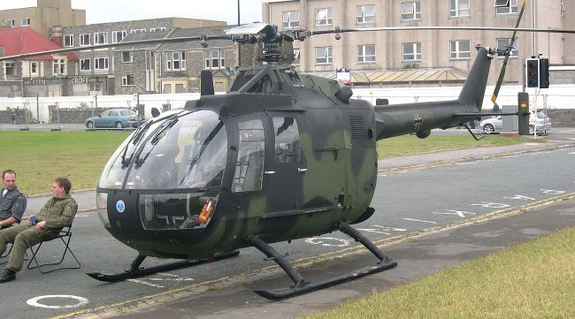 German Army Air Corps Bo105P, 86+26