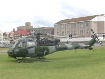 Westland Scout AH1, XV137  --  click to enlarge