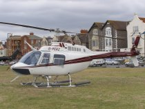 Bell 206B JetRanger 3, G-PERZ, from Wellesbourne