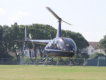 Nearly-new Robinson R44 Raven II, G-TOLI, built in 2007