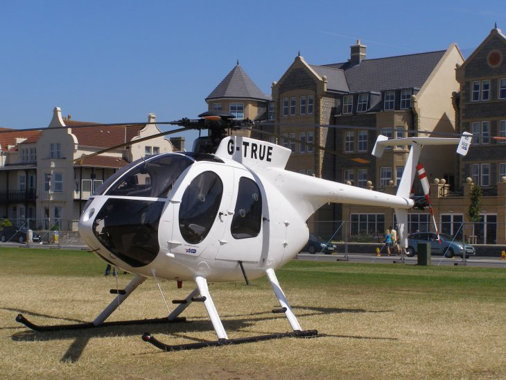 MD Helicopters Hughes 369E, G-TRUE