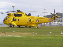Sea King HAR3A, ZH544, from the RAF at Chivenor