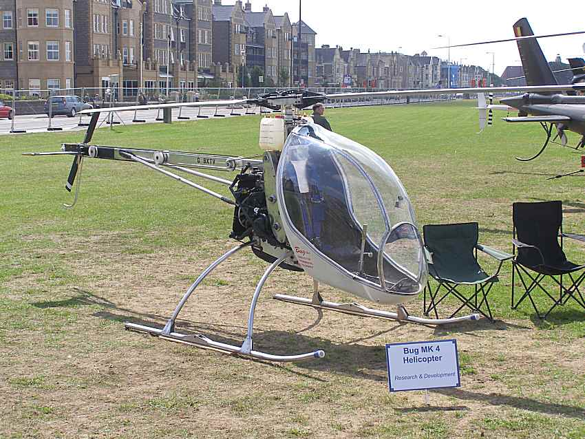 Ben Cope's Bug 4 at Helidays 2010