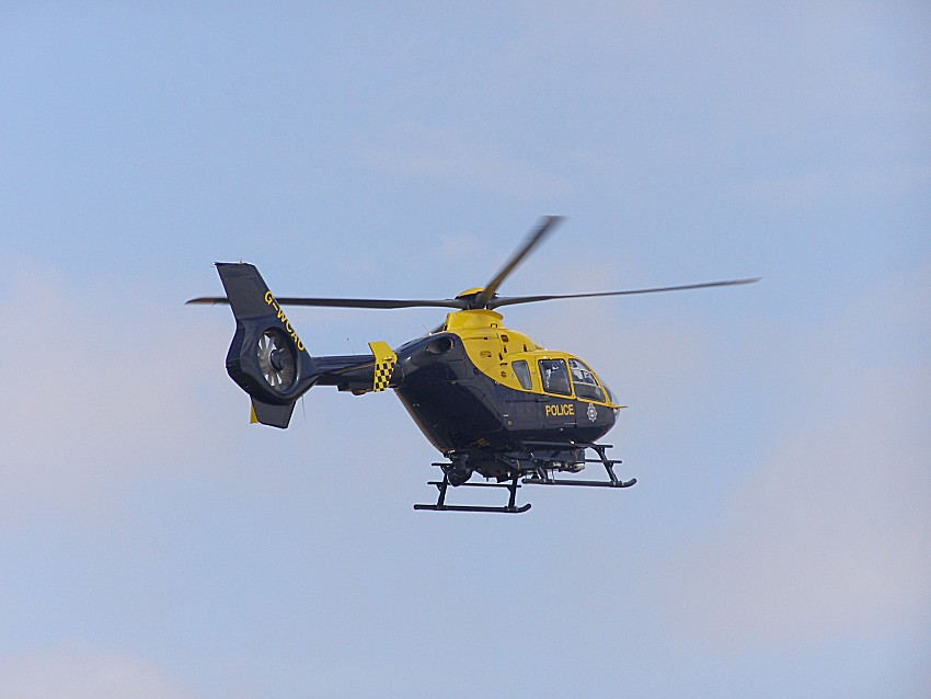 Eurocopter EC135T2, G-WCAO, used by Gloucestershire, Avon & Somerset Police