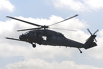 Pave Hawk approaching Beach Lawns