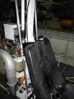 Fuel Tank within Seat
