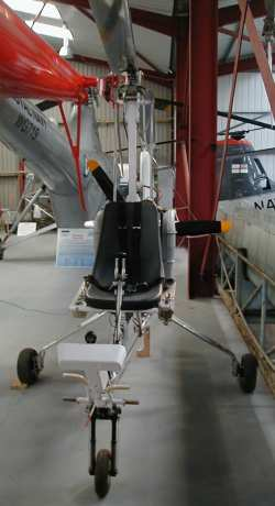 Husband Modac 500 Gyroplane  --  View from front