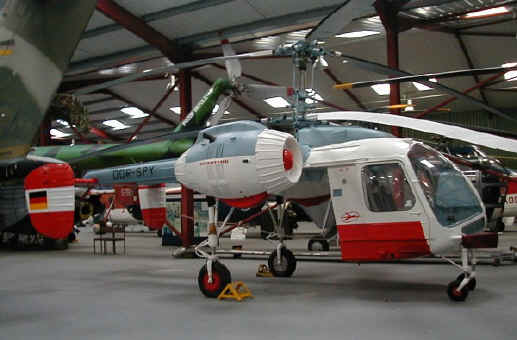 Kamov Ka-26,  DDR-SPY,  in The Helicopter Museum