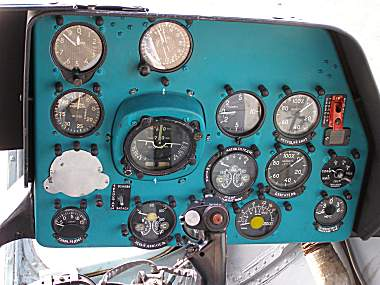 Mi-8P, 618 right hand Instrument Panel