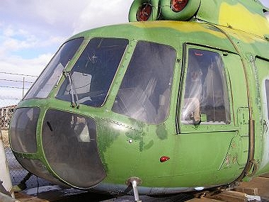 Mi-8P Flightdeck in the Fully-Glazed Nose