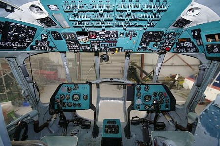 Mi-8P 618 Flight Deck
