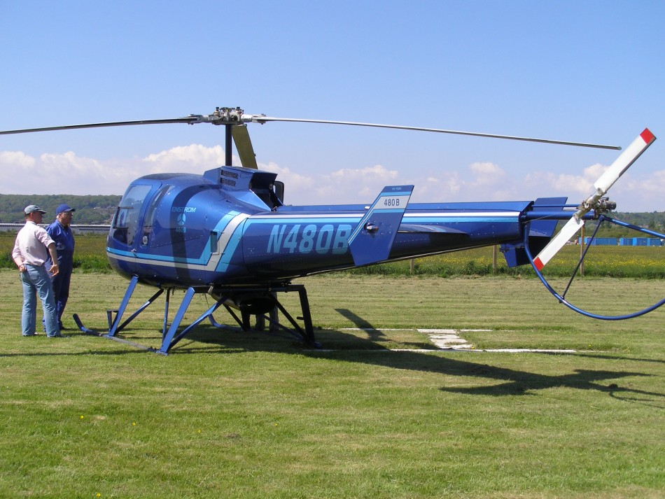 Enstrom 480B, N480BB, at The Helicopter Museum