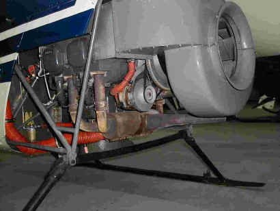 G-OTED's Lycoming Engine