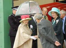 Bidding Farewell to Her Majesty (photo by Alan Norris)