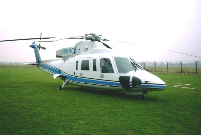 Sikorsky S-76B, N89WC, visits The Helicopter Museum