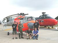 Helicopter Museum Team - Click to enlarge