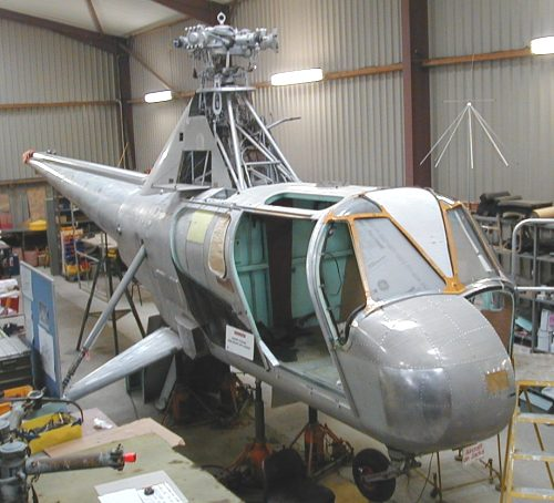 Widgeon  5N-ABW  under restoration.