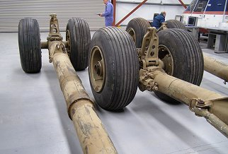Landing Gear Assemblies - Two Main and one Nose Assembly