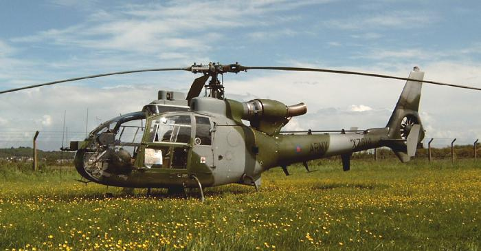 Gazelle  XZ314 at The Helicopter Museum