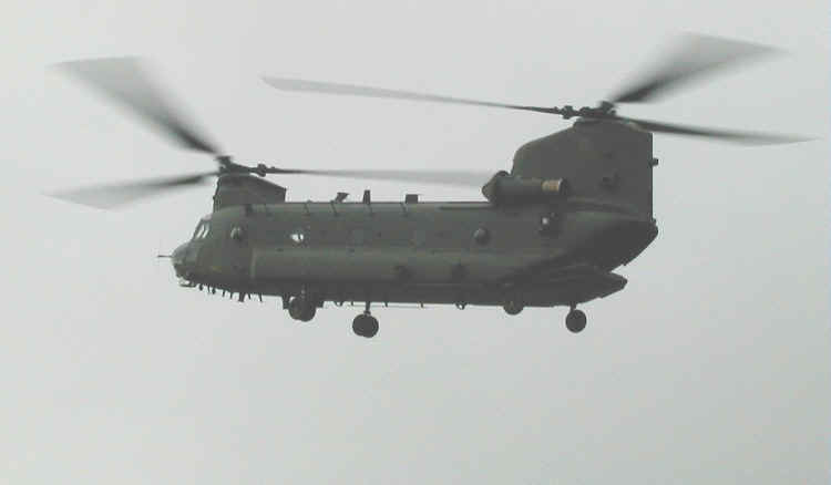 Chinook HC2, ZA720, at The Helicopter Museum