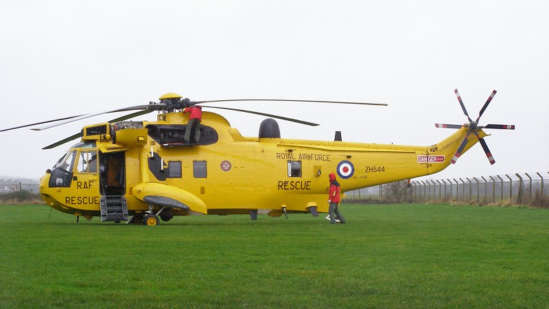 Sea King HAR.3a, ZH544