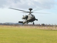 WAH-64 Apache lands at THM
